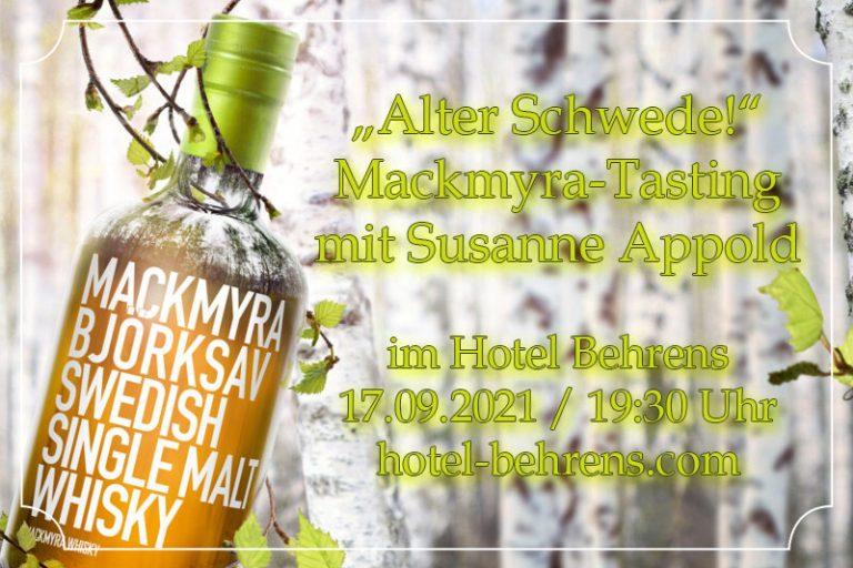 Mackmyra Whiskytasting